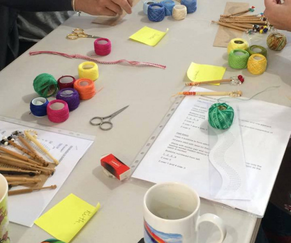 Colours in use at beginners class